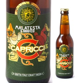 Capricci: India Pale Ale birra artigianale Malatesta del Salento 33 CL.