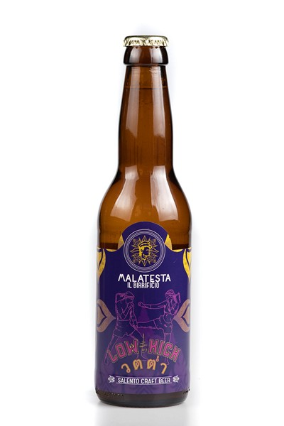 Low Kick: Session IPA birra artigianale Malatesta del Salento 33 CL.